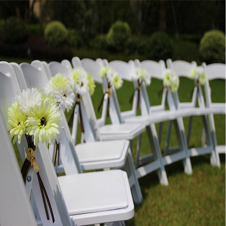 wedding folding chair