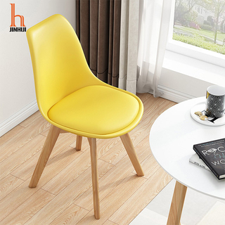 H Jinhui Wood Plastic Dining Chairs/plastic modern dining chairs