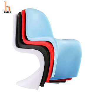 H Jinhui Moulded Plastic Chairs Panton Chair