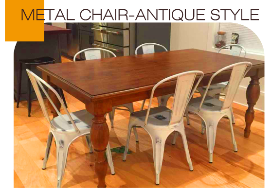 What is the Advantage of Metal Chairs?